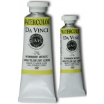 Da Vinci Artists' Watercolor Paint 37ml Hansa Yellow Light: Yellow, Tube, 37 ml, Watercolor, (model DAV242), price per tube