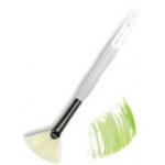 Royal & Langnickel® Soft Grip™ Stiff Hog Bristle Fan Brush 6: Stiff Hog Bristle, Fan, 6, Acrylic, Oil, Watercolor, (model RSG825-6), price per each