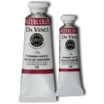 Da Vinci Artists' Watercolor Paint 37ml Red Rose Deep; Color: Red/Pink; Format: Tube; Size: 37 ml; Type: Watercolor; (model DAV276), price per tube