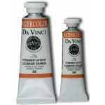 Da Vinci Artists' Watercolor Paint 37ml Cadmium Orange: Orange, Tube, 37 ml, Watercolor, (model DAV208), price per tube