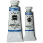 Da Vinci Artists' Watercolor Paint 15ml Manganese Blue: Blue, Tube, 15 ml, Watercolor, (model DAV253F), price per tube