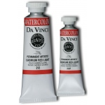 Da Vinci Artists' Watercolor Paint 37ml Cadmium Red Light: Red/Pink, Tube, 37 ml, Watercolor, (model DAV212), price per tube