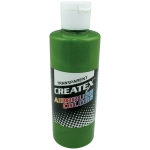 Createx™ Airbrush Paint 4oz Leaf Green; Color: Green; Format: Bottle; Size: 4 oz; Type: Airbrush; (model 5115-04), price per each