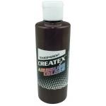 Createx™ Airbrush Paint 4oz Dark Brown: Brown, Bottle, 4 oz, Airbrush, (model 5128-04), price per each