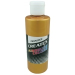 Createx™ Airbrush Paint 2oz Pearlescent Copper; Color: Metallic; Format: Bottle; Size: 2 oz; Type: Airbrush; (model 5306-02), price per each