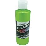 Createx™ Airbrush Paint 4oz Pearlescent Lime: Green, Bottle, 4 oz, Airbrush, (model 5313-04), price per each