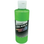 Createx™ Airbrush Paint 2oz Iridescent Green; Color: Green; Format: Bottle; Size: 2 oz; Type: Airbrush; (model 5507-02), price per each