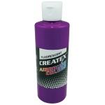Createx™ Airbrush Paint 4oz Fluorescent Violet; Color: Purple; Format: Bottle; Size: 4 oz; Type: Airbrush; (model 5401-04), price per each