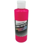 Createx™ Airbrush Paint 4oz Fluorescent Magenta: Red/Pink, Bottle, 4 oz, Airbrush, (model 5406-04), price per each