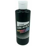 Createx™ Airbrush Paint 4oz Opaque Black; Color: Black/Gray; Format: Bottle; Size: 4 oz; Type: Airbrush; (model 5211-04), price per each