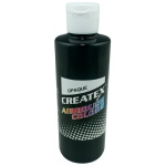Createx™ Airbrush Paint 8oz Opaque Black; Color: Black/Gray; Format: Bottle; Size: 8 oz; Type: Airbrush; (model 5211-08), price per each