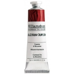 Williamsburg® Handmade Oil Paint 37ml Alizarin Crimson; Color: Red/Pink; Format: Tube; Size: 37 ml; Type: Oil; (model 6000684-9), price per tube