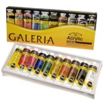 Winsor & Newton™ Galeria™ Acrylic 10-Color Set: Multi, Tube, 60 ml, Acrylic, (model 2190517), price per set