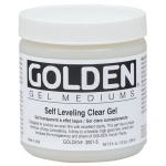 Golden® Self Leveling Clear Gel Medium 8 oz.: 236 ml, 8 oz, Gel, (model 0003001-5), price per each