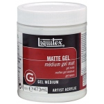 Liquitex® Matte Gel Medium 16oz: Matte, 16 oz, Gel