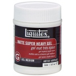 Liquitex® Matte Super Heavy Gel Medium 8oz: Matte, 8 oz, Gel