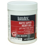 Liquitex® Matte Super Heavy Gel Medium 16oz: Matte, 16 oz, Gel