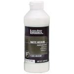Liquitex® Matte Medium 16oz: Matte, Bottle, 16 oz, (model 5116), price per each