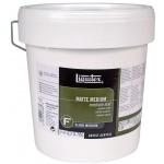 Liquitex® Matte Medium 1 gallon: Matte, 128 oz, (model 5136), price per each