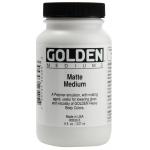 Golden® Matte Medium 8 oz.; Finish: Matte; Size: 236 ml, 8 oz; (model 0003530-5), price per each