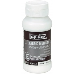Liquitex® Fabric Medium: 4 oz, Acrylic Painting, (model 126804), price per each