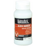 Liquitex® Gloss Varnish 4 oz.: Gloss, 4 oz, Varnish, (model 6204), price per each