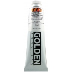Golden® Heavy Body Acrylic 2 oz. Quinacridone/Nickel Azo Gold: Metallic, Yellow, Tube, 2 oz, 59 ml, Acrylic, (model 0001301-2), price per tube