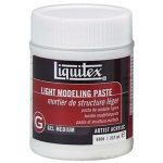 Liquitex® Light Modeling Paste 8oz; Size: 8 oz; Type: Texture; (model 6808), price per each