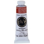 Da Vinci Artists' Oil Color Paint: Cadmium Red Medium, 37ml Tube