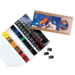Yarka® St. Petersburg Watercolor Set: Multi, Pan, Watercolor, (model YK58024), price per set