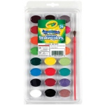 Crayola Washable Watercolor: 24-Color Set