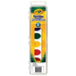 Crayola® Washable Watercolors 8-Color Set: Multi, Pan, Watercolor, (model 53-0525), price per set