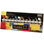 Liquitex® Professional Series Heavy Body 12-Color Classic Set; Color: Multi; Format: Tube; Size: 59 ml; Type: Acrylic; (model 101038), price per set