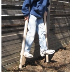 Beka Traditional Wooden Maple Stilts: Regular, 47.5""