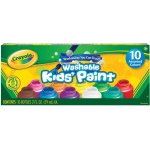 Crayola Washable Kids' Paint: 2 oz. Bottle, 10-Color Set