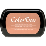 ColorBox® Full Size Archival Dye Ink Pad Coral; Color: Red/Pink; Format: Pad; Ink Type: Dye-Based; (model CS27025), price per each