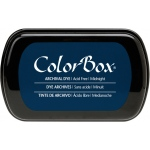 ColorBox® Full Size Archival Dye Ink Pad Midnight: Blue, Pad, Dye-Based, (model CS27026), price per each