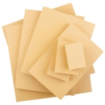 "Speedball® 3"" x 5"" Smokey Tan Linoleum Blocks: Brown, Linoleum, Mounted, 3"" x 5"", 1/8"", Block, (model S4306), price per each"
