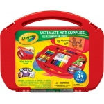 Crayola® Ultimate Art Supplies Kit with Built-in Easel: Art Kit, (model 04-5674), price per set