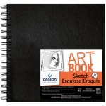 "Canson ArtBook Artist Series Sketch Book: Wirebound, 8"" x 8"", 80-Sheet,"