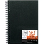 "Canson® ArtBook™ Artist Series 7"" x 10"" Wirebound Sketchbook; Binding: Wire Bound; Color: White/Ivory; Format: Book; Ink Color: Black/Gray; Quantity: 80 Sheets; Size: 7"" x 10""; Type: Sketching; Weight: 65 lb; (model C100510427), price per each"