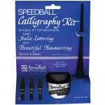 Speedball® Introductory Calligraphy Kit; Ink Type: India; Tip Size: C-Style; Tip Type: Lettering Nib; Type: Calligraphy; (model H3059), price per kit