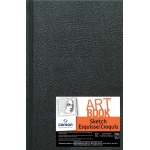 "Canson® ArtBook™ Artist Series 5.5"" x 8.5"" Hardbound Sketchbook; Binding: Sewn Bound; Color: White/Ivory; Format: Book; Ink Color: Black/Gray; Quantity: 108 Sheets; Size: 5 1/2"" x 8 1/2""; Type: Sketching; Weight: 65 lb; (model C100510350), price per each"