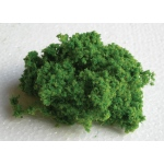 Wee Scapes™ Architectural Model Light Green Bush Foliage Cluster: Green, 150 sq in, Poly Fiber, Turf, Bushes, Foliage, (model WS00340), price per each