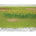 "Wee Scapes™ Architectural Model Sunflowers: Yellow, 150 sq in, 8-Pack, 1"", Flowers, (model WS00313), price per 8-Pack"
