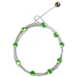 "Mishu Mighty Magnet Photo Cable Lime Bling; Color: Green; Length: 57""; Shape: Circle; Type: Cable; (model M884), price per each"