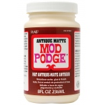 Mod Podge® Antique Matte 8 oz. Glue Sealer and Finish: Matte, Bottle, 8 oz, All Purpose, (model PLCS12948), price per each