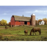 "Reeves™ Large Painting By Numbers Horse & Barn: Multi, 12"" x 16"", (model PBNACL6), price per each"