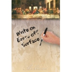 "JOTz SPOTz The Last Supper by DaVinci Dry Erase Image Board: 10"" x 14"", Dry Erase, (model MA8138), price per each"