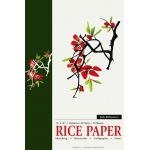"Richeson Rice Paper Pad: White/Ivory, Pad, 50 Sheets, 12"" x 18"", Rice, (model R101070), price per 50 Sheets pad"